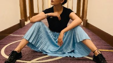 Photo of Sapna Chaudhary shares her highly voguish post-delivery look!
