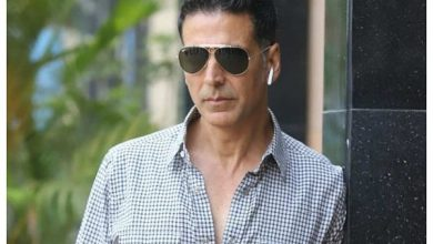 Photo of Akshay Kumar contributes towards the construction of the Ram Mandir, also requests the citizens to donate