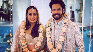 Photo of Varun Dhawan and Natasha Dalal set to throw a grand reception of their wedding on February 2