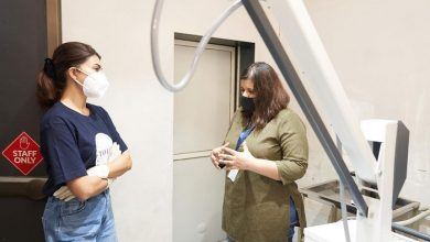 Photo of Jacqueline Fernandez visits and helps stray animals through her YOLO Foundation