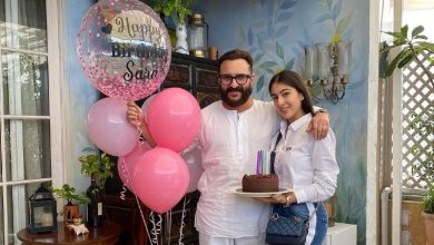 Photo of Saba Ali Khan treats fans with adorable Saif Ali Khan & Sara's THROWBACK pic & it will melt your heart